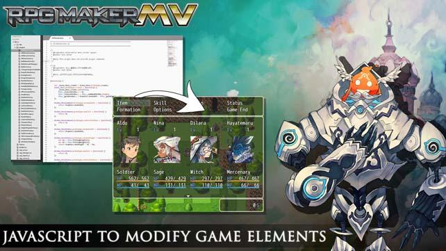 RPG Maker MV Available for Pre-order
