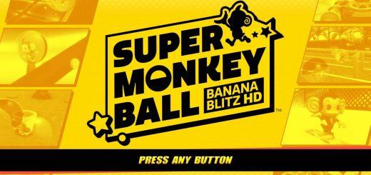 Go!Super Monkey Ball Banana Blitz HD