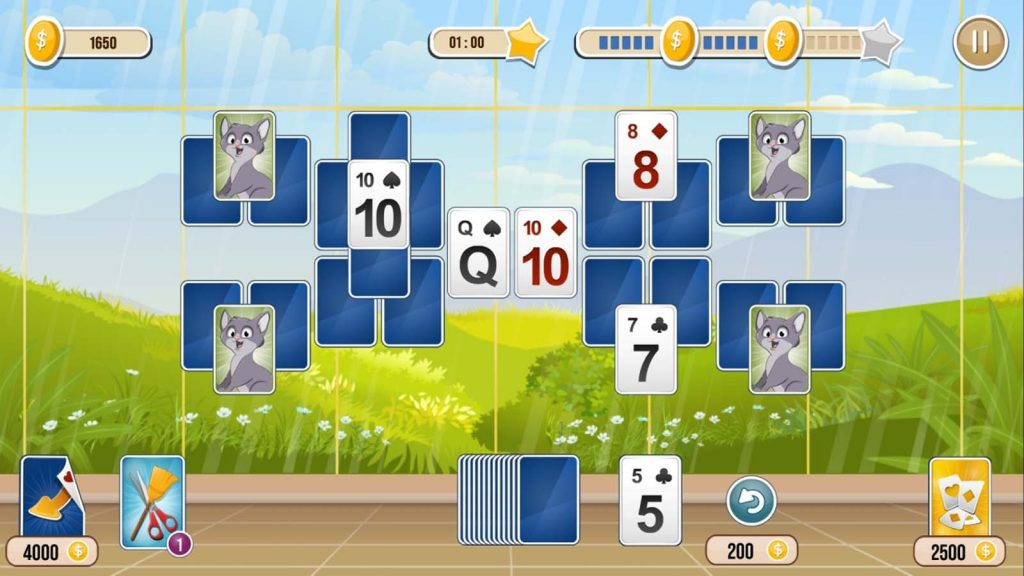 how to get free coins on solitaire tripeaks