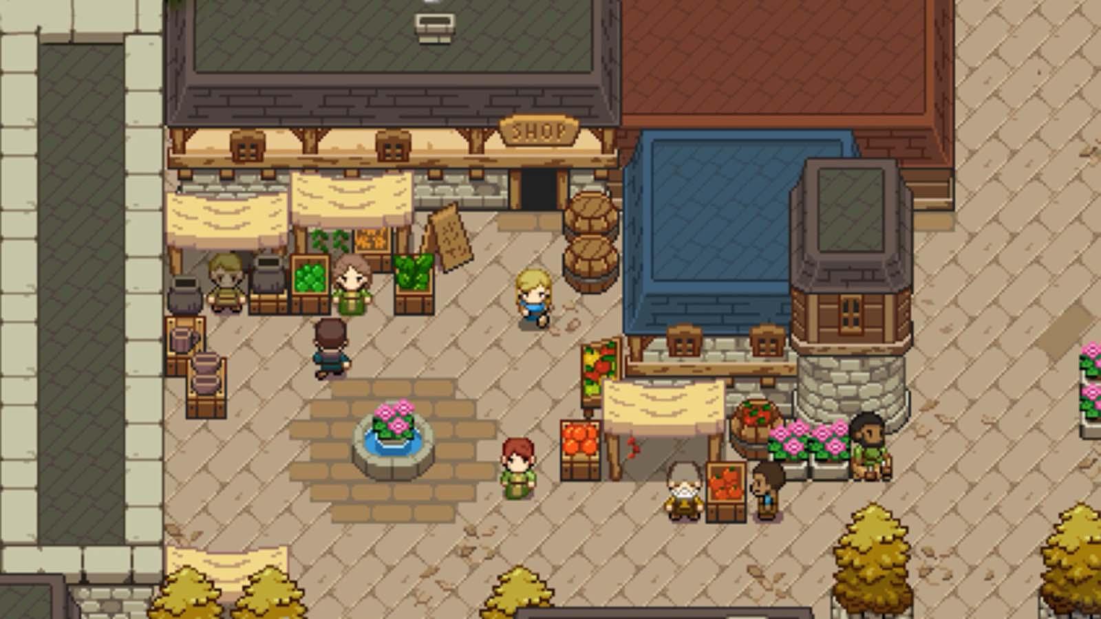Pixel-Art Action RPG 'Ocean's Heart' is Coming to Steam