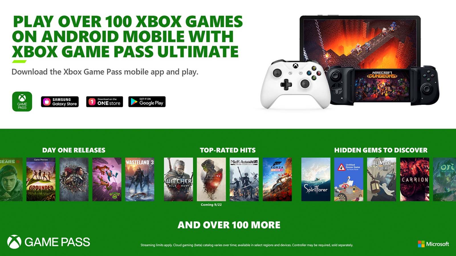 Xbox announces new titles coming to Xbox Game Pass