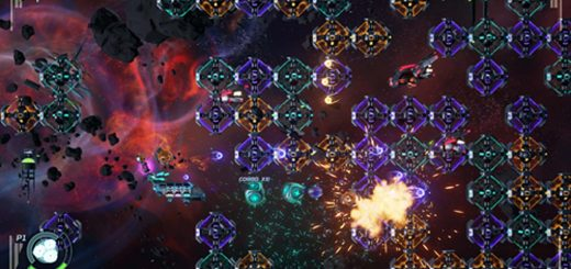 Gorgeous High-Speed SHMUP Puzzler Galacide Coming to Consoles