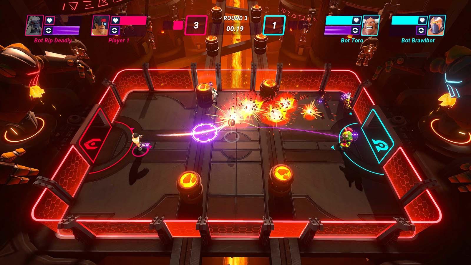 Hyper Brawl Tournament Review (PlayStation 4)