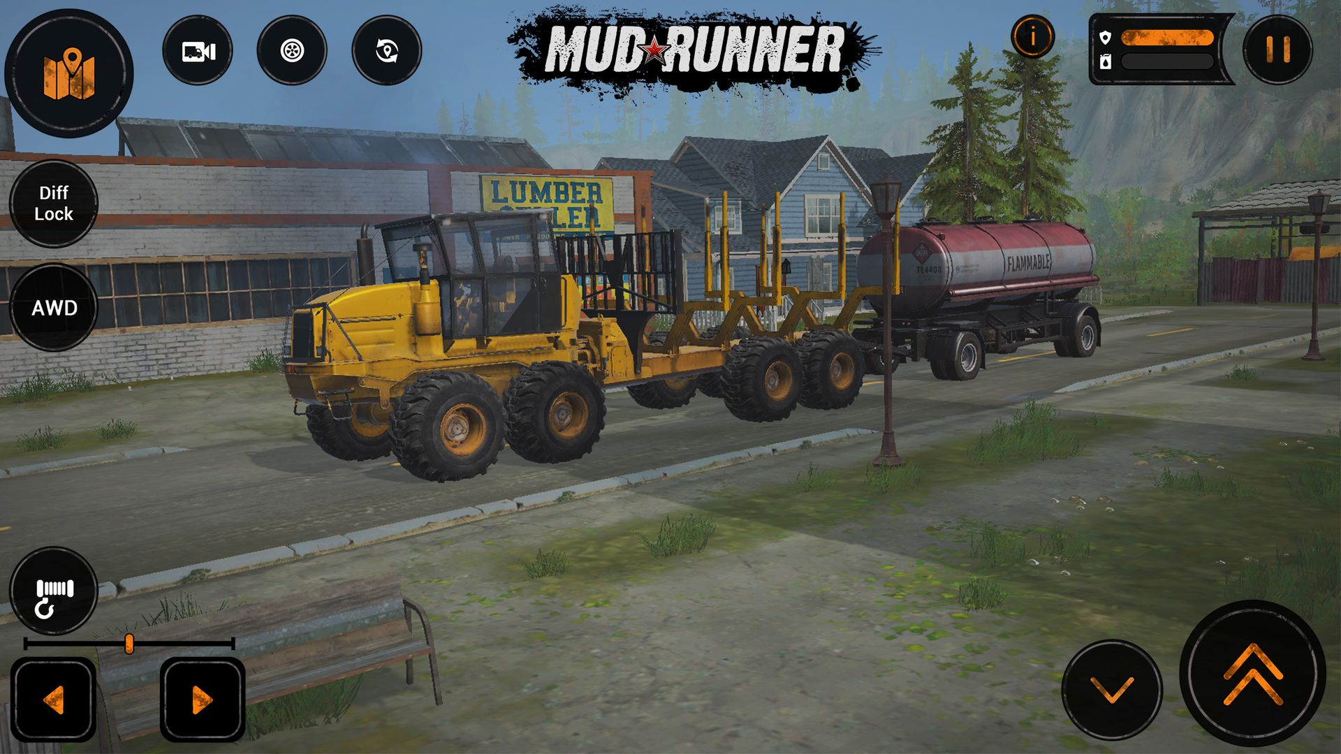 MudRunner Mobile unleashes American Wilds DLC with its two new American maps, missions and vehicles