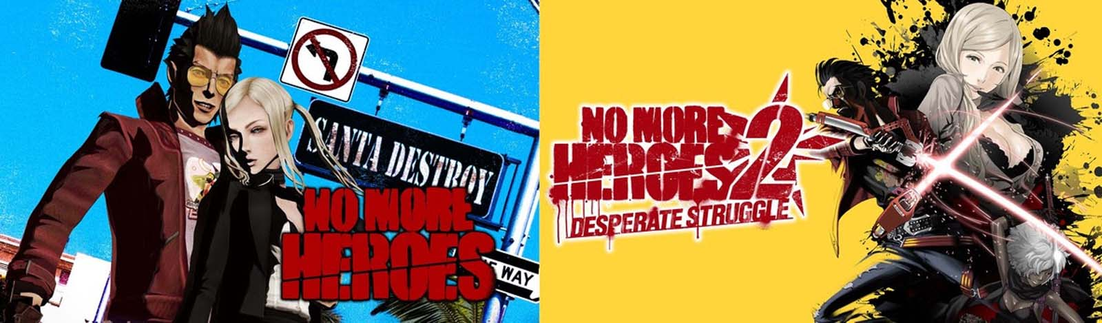 No More Heroes and No More Heroes 2 launching on Switch today! Surprise announcement