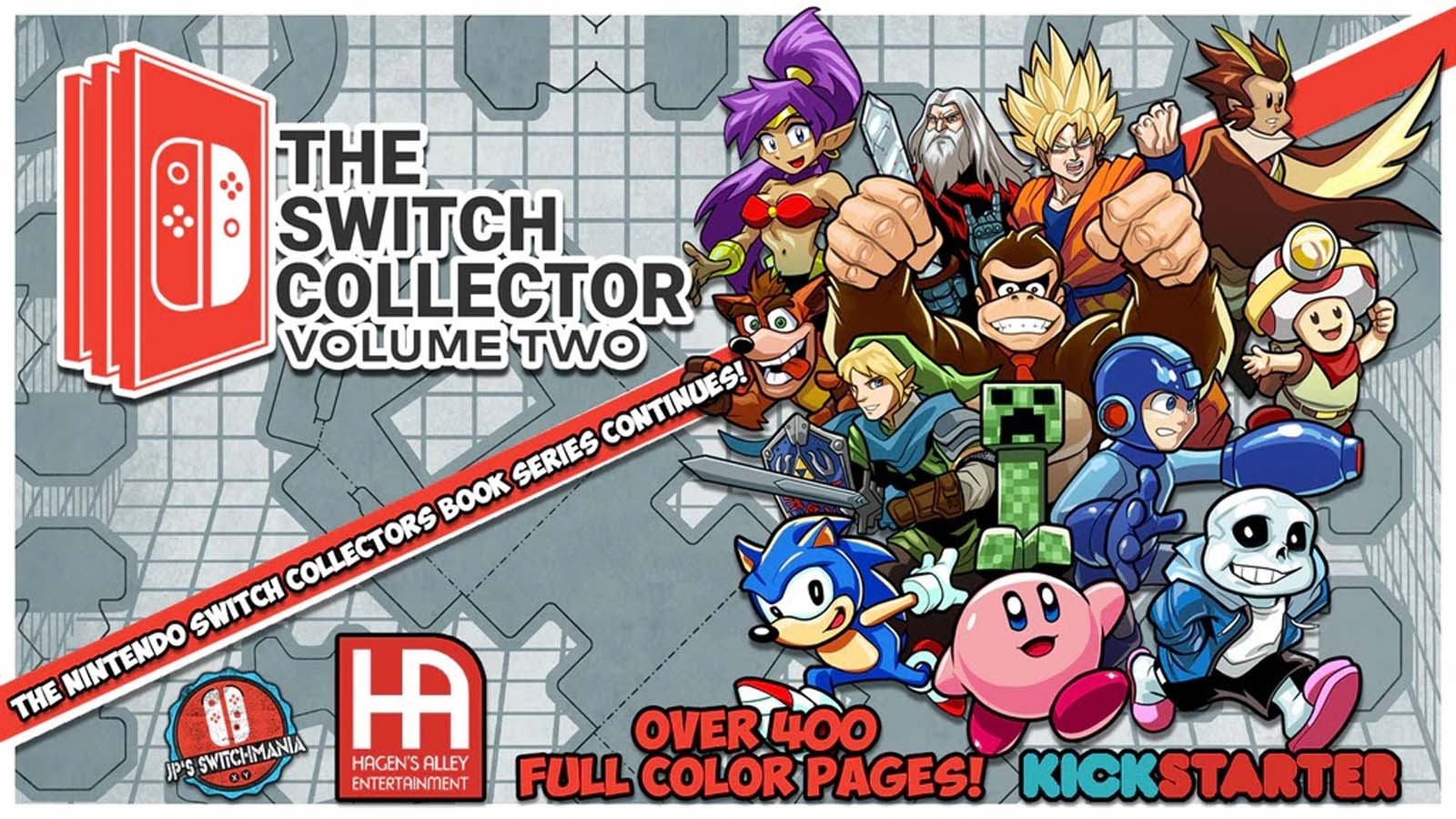 The Switch Collector Volume 2 Now on Kickstarter