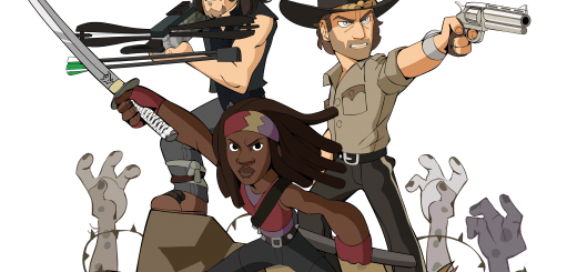 Ubisoft announced that Michonne, Rick Grimes, and Daryl Dixon from The Walking Dead will be in Brawlhalla