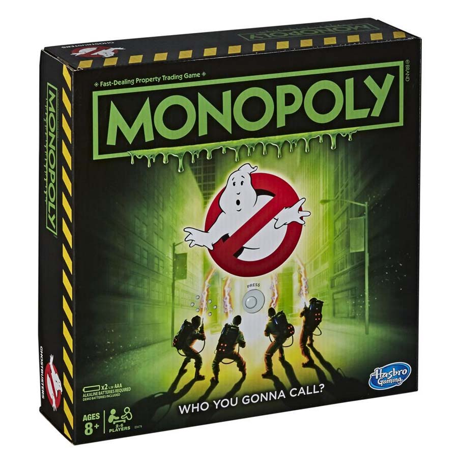 Hasbro Monopoly Ghostbusters Edition Review (Board Game)