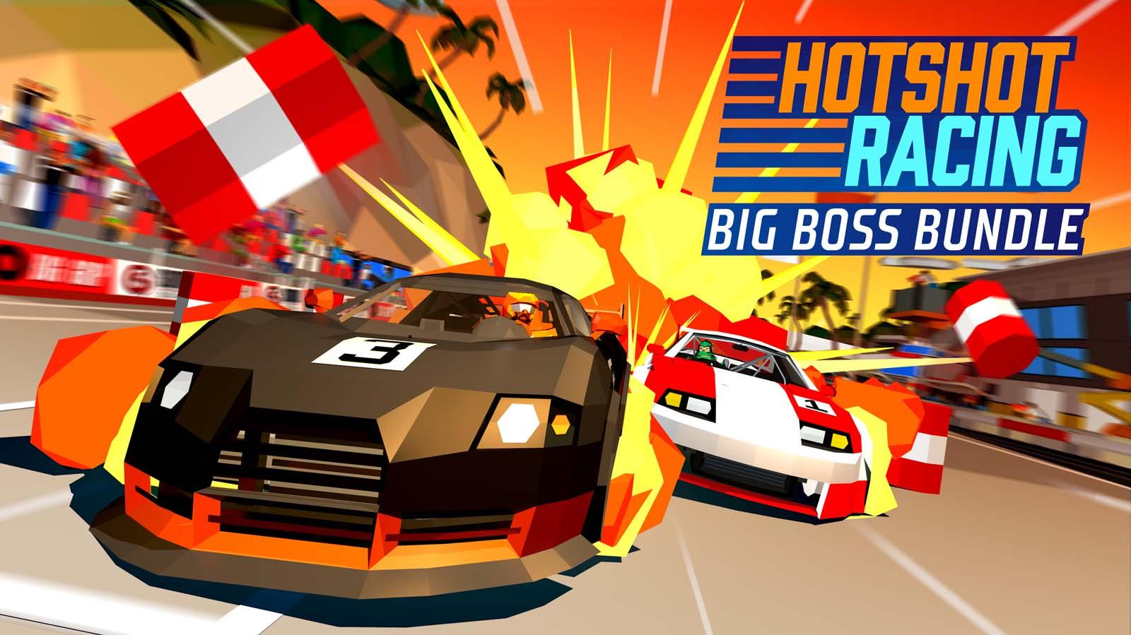 Hotshot Racing Free 'Big Boss DLC' Out Today Brings New Championship, Tracks and More