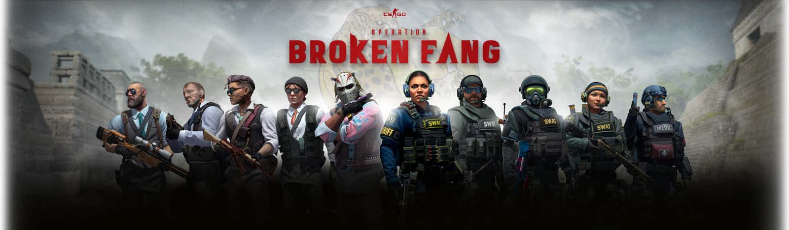 Counter-Strike Global Offensive - Operation Broken Fang