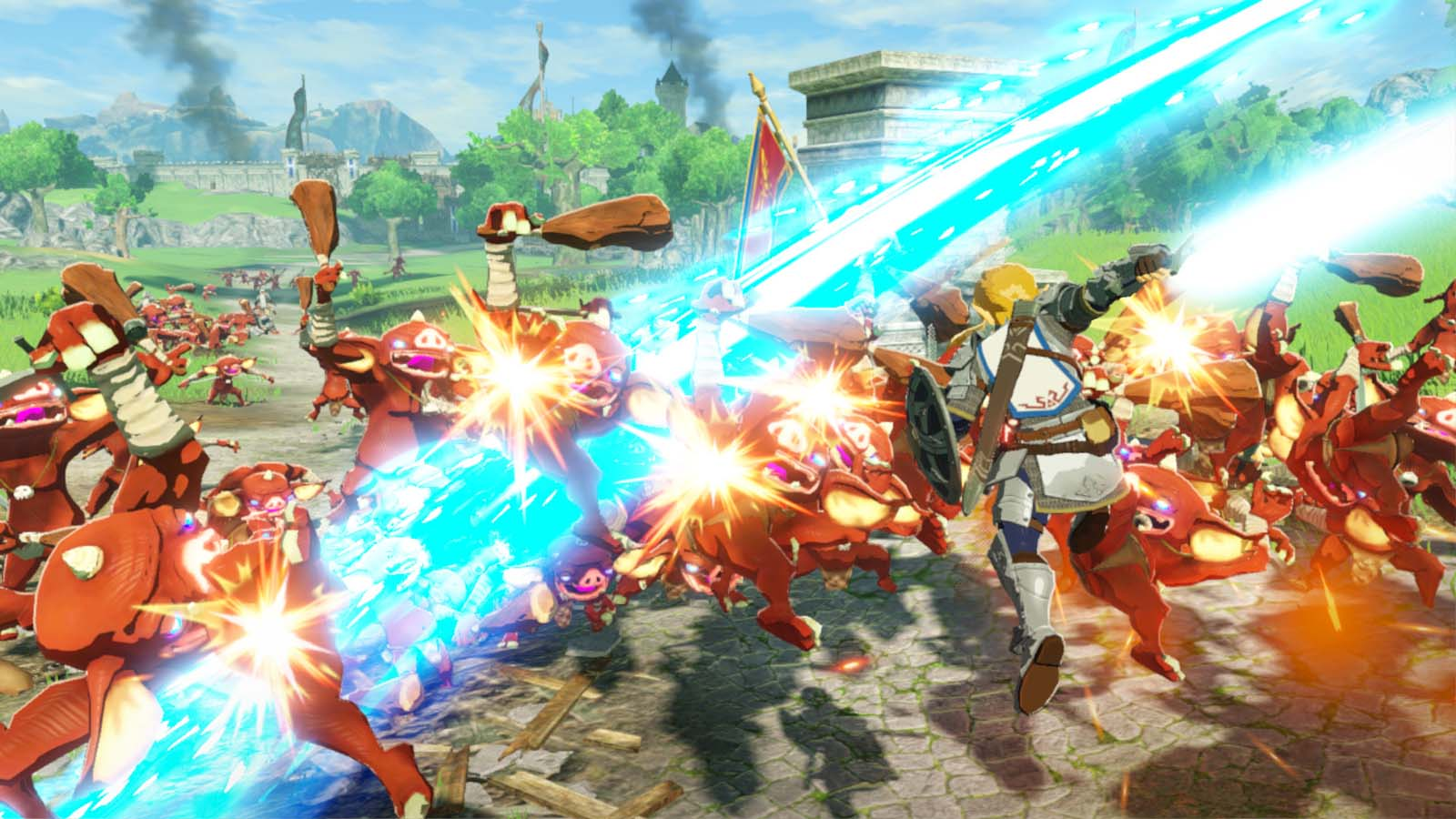 Hyrule Warriors Age Of Calamity Review Nintendo Switch