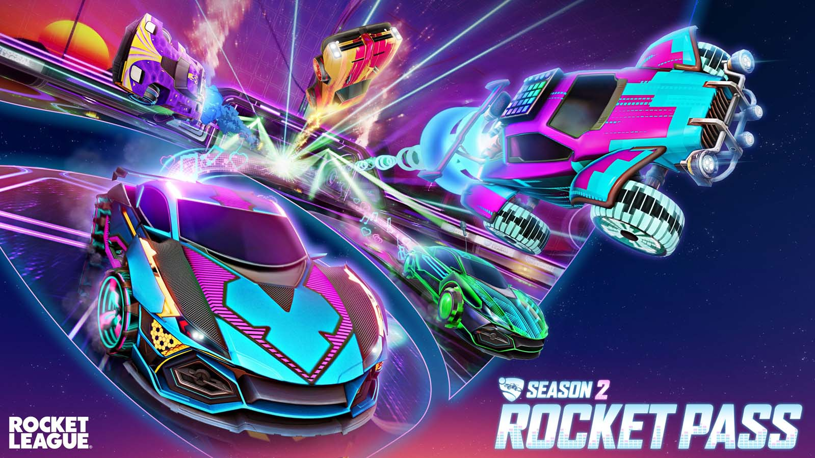 Rocket League's Season 2 will go live on December 9. The next season is a celebration of music!