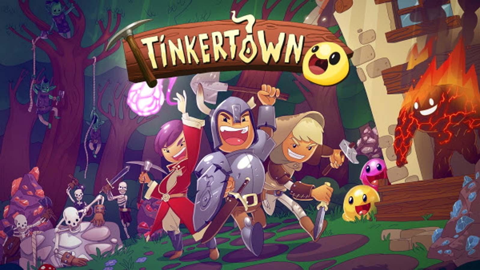 Tinkertown, Headup's Cheerful 16-bit Sandbox Adventure RPG, Arrives on Steam Today