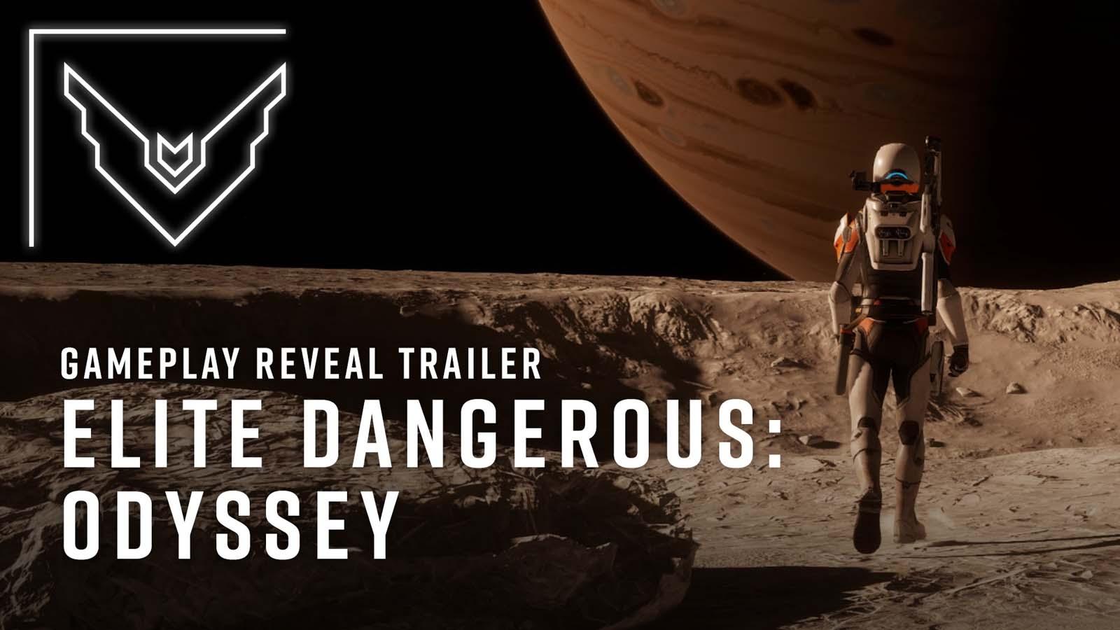 Watch the Elite Dangerous Odyssey gameplay reveal trailer