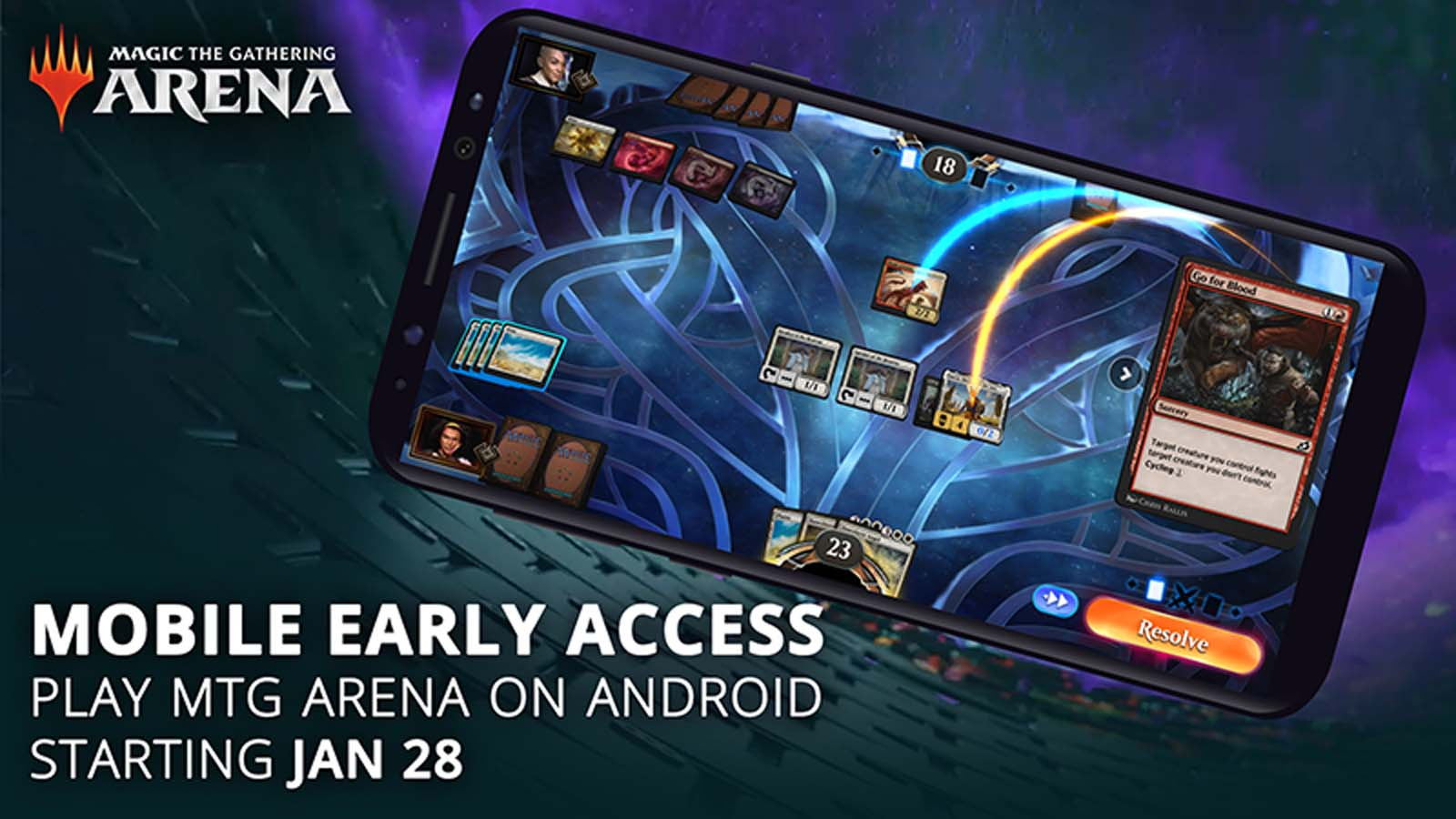 Magic The Gathering Arena Comes to Android Early Access Today