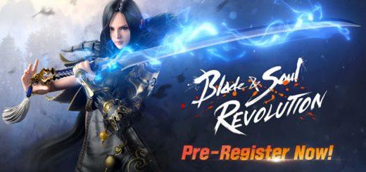 Netmarble's latest open world RPG Blade & Soul Revolution has officially opened pre-registration