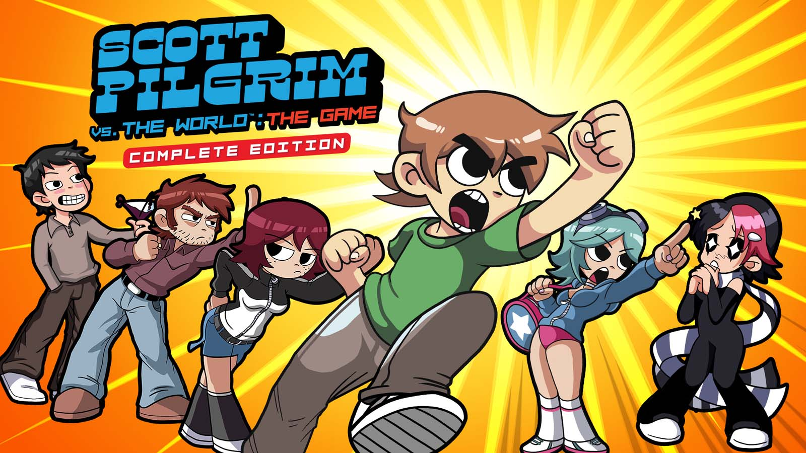 Scott Pilgrim Vs The World The Game-Complete Edition (PlayStation 5)