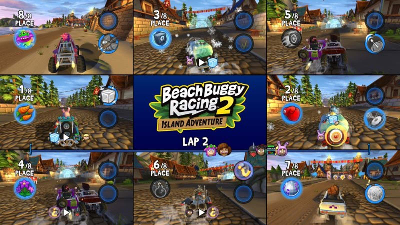 Beach Buggy Racing 2 Island Adventure out March 17 on consoles