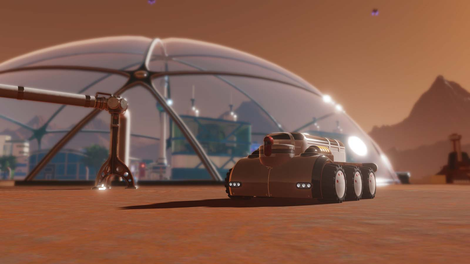 Surviving Mars Returns with Free Tourism Update and Content Creator Pack
