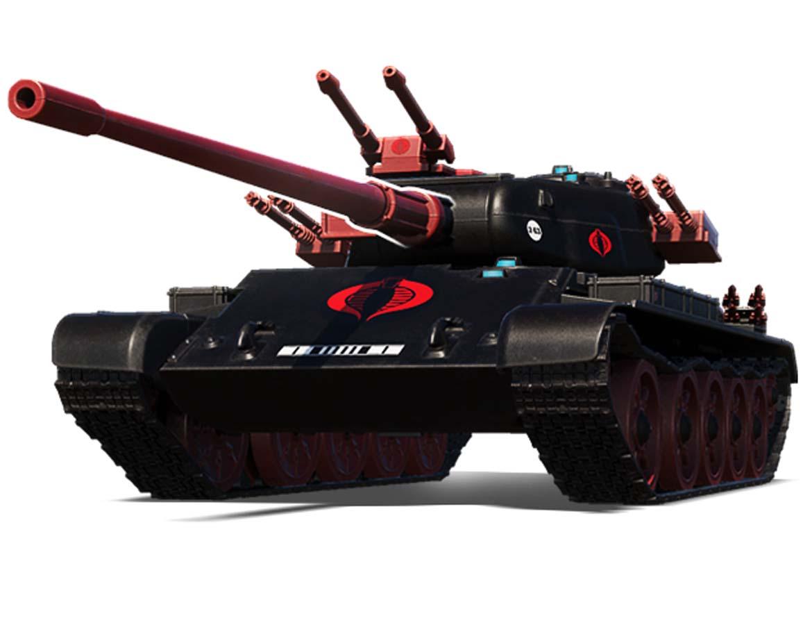 YO JOE! G.I. JOE Makes Its Way to World of Tanks