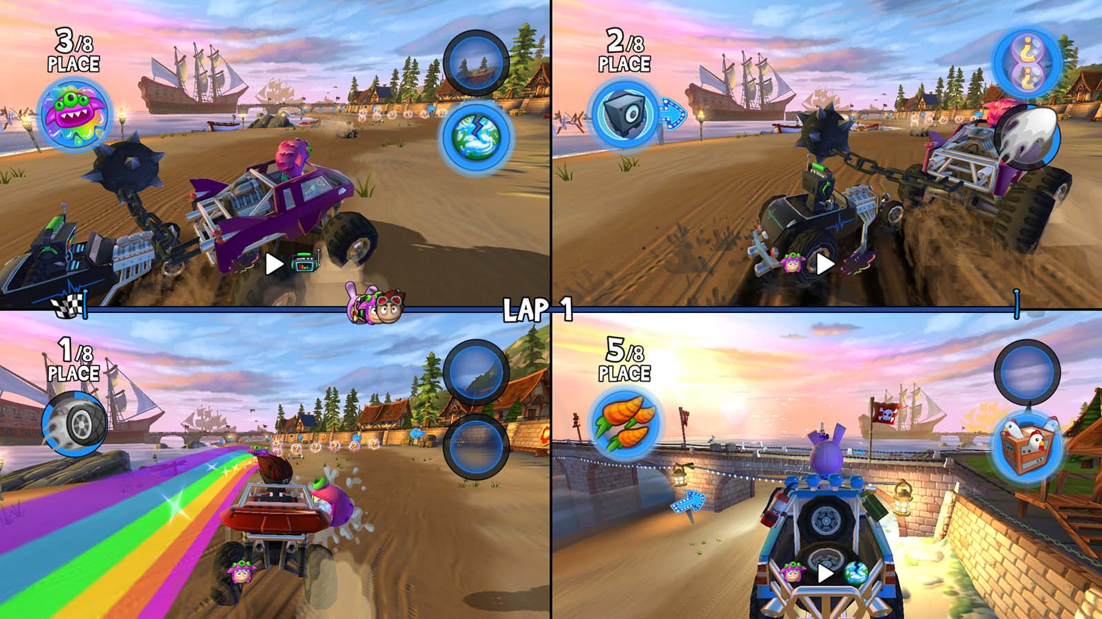 Beach Buggy Racing 2 Island Adventure Review (PlayStation 4)