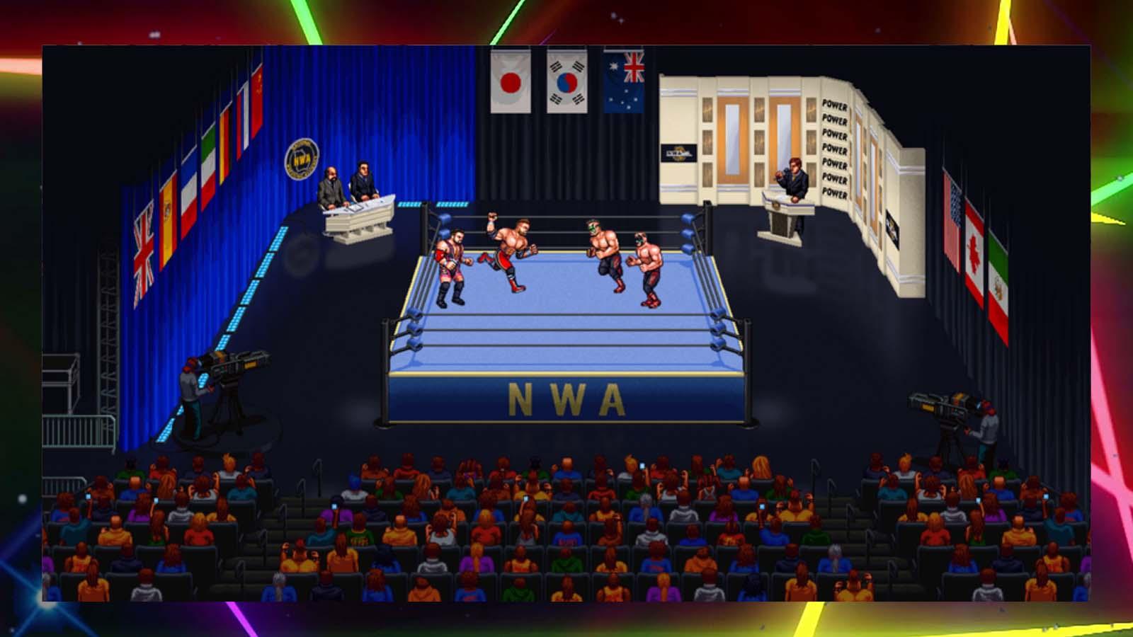 Retromania Wrestling Review (Steam)