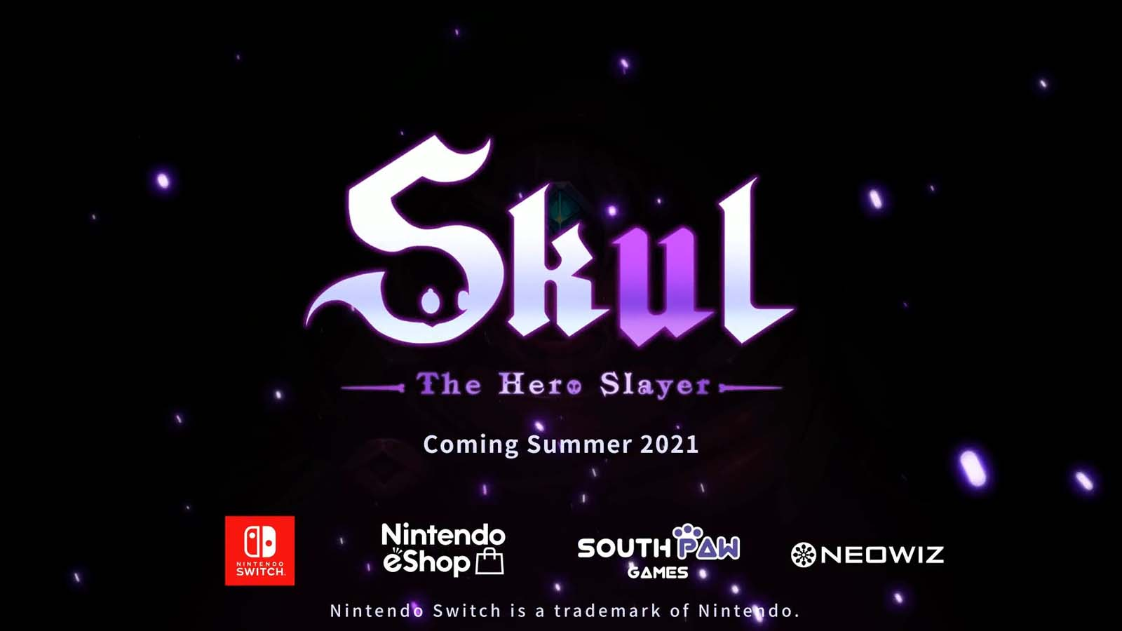 """Skul: The Hero Slayer, the indie sensation published by NEOWIZ and developed by SouthPAW Games, offered a sneak peek at their upcoming Switch version during the Nintendo Indie Showcase. The Nintendo Switch version along with Xbox One and Playstation 4 ports are all set to be released this summer. Having already built a sizable community on Steam and boasting 17K+ reviews with a 93% rating, the expectations for the console ports are high. """"We're extremely excited to bring Skul to consoles and share our game with an even larger community of gamers"""" said Sang Woo Park, CEO of SouthPAW Games. """"We're also going to be updating both the PC and console versions of Skul throughout the year and have a bunch of cool content planned."""" SouthPAW Games also just recently released the 2nd post-launch update for the PC version. It features 4 """"special event maps'' that boost the variability of each run even more and bring a lot of new risk-reward factors into play."""