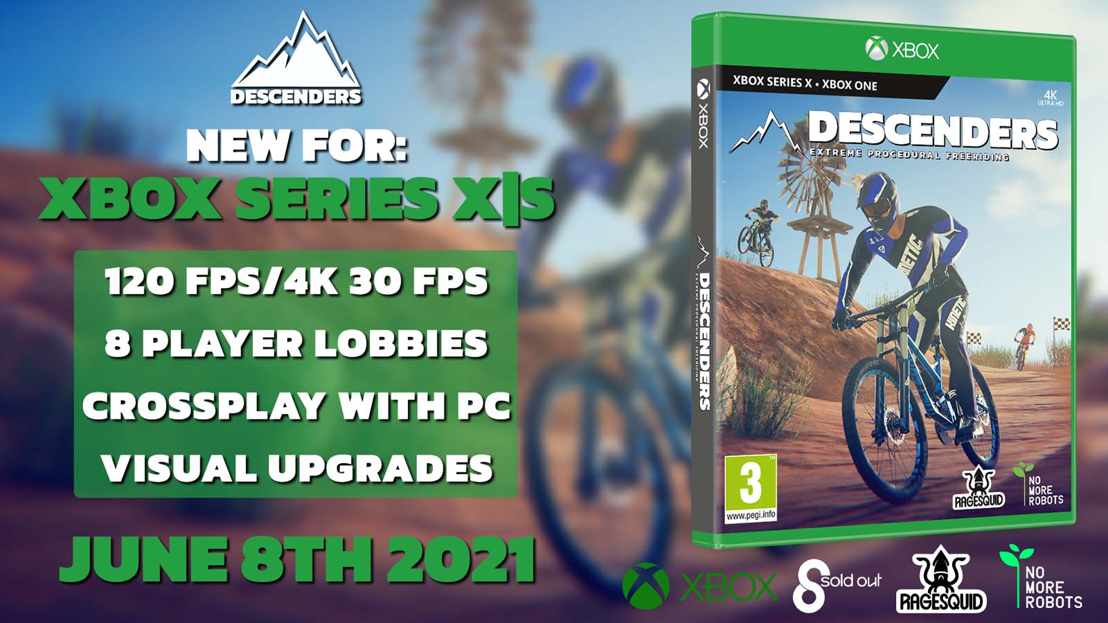 Descenders rides onto Series XS