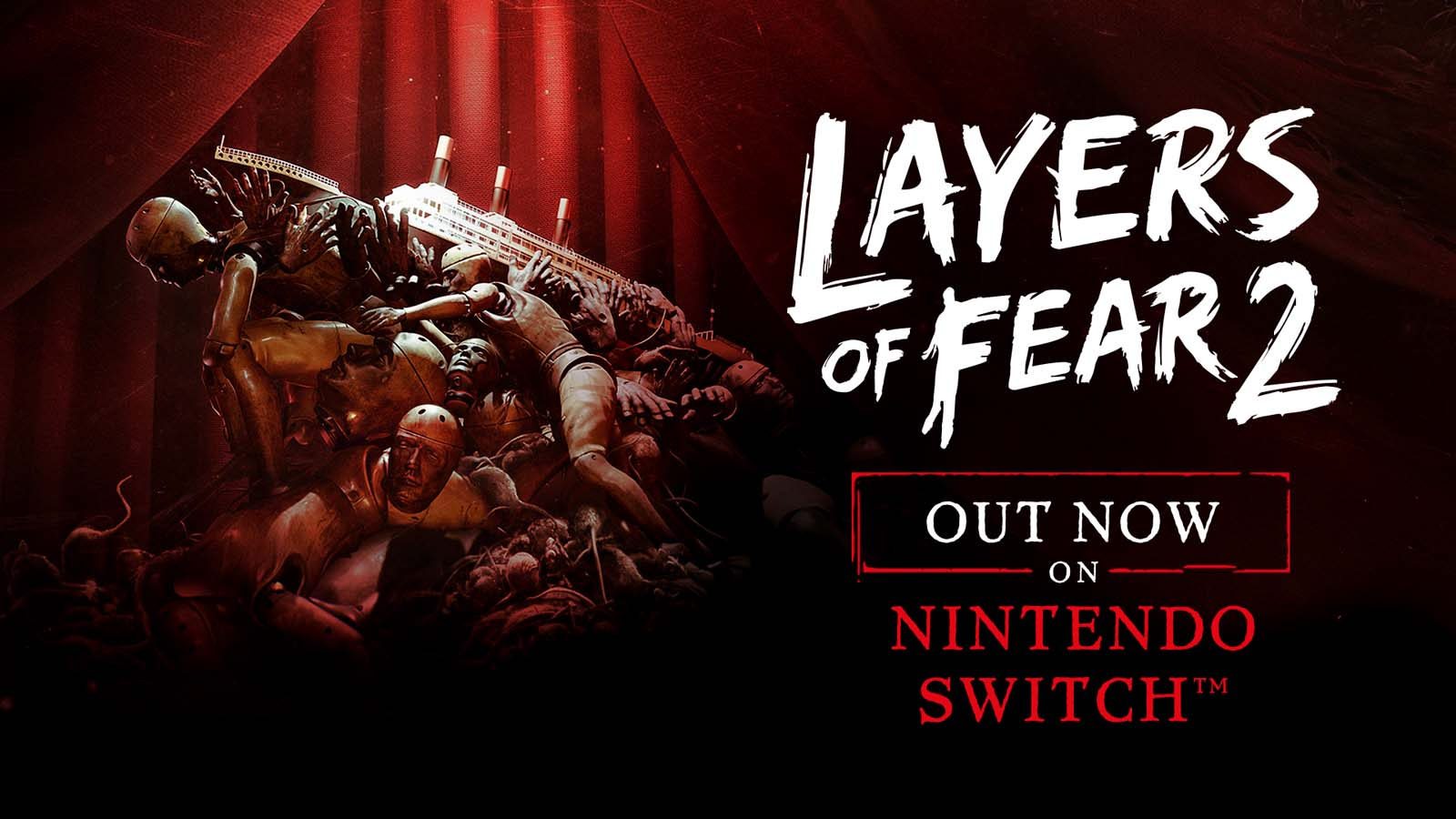 Layers of Fear 2 Launches on Nintendo Switch