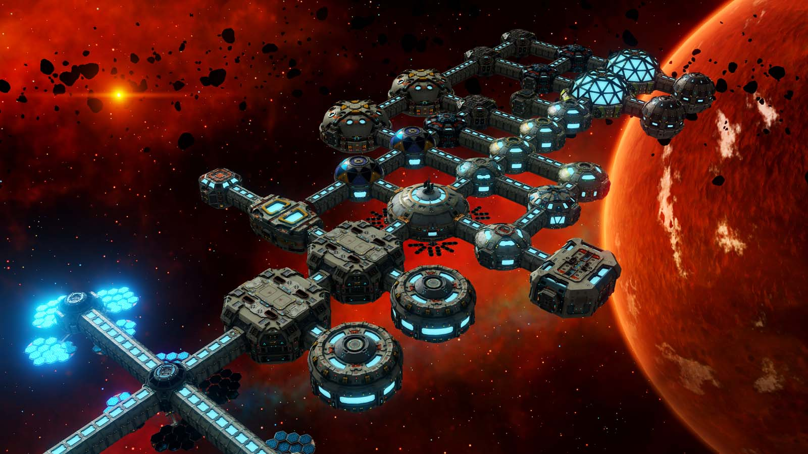 Space Colony Management Sim Base One Now Available on PC, Mac