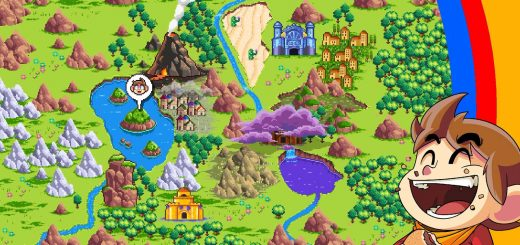 Alex Kidd In Miracle World DX Review map