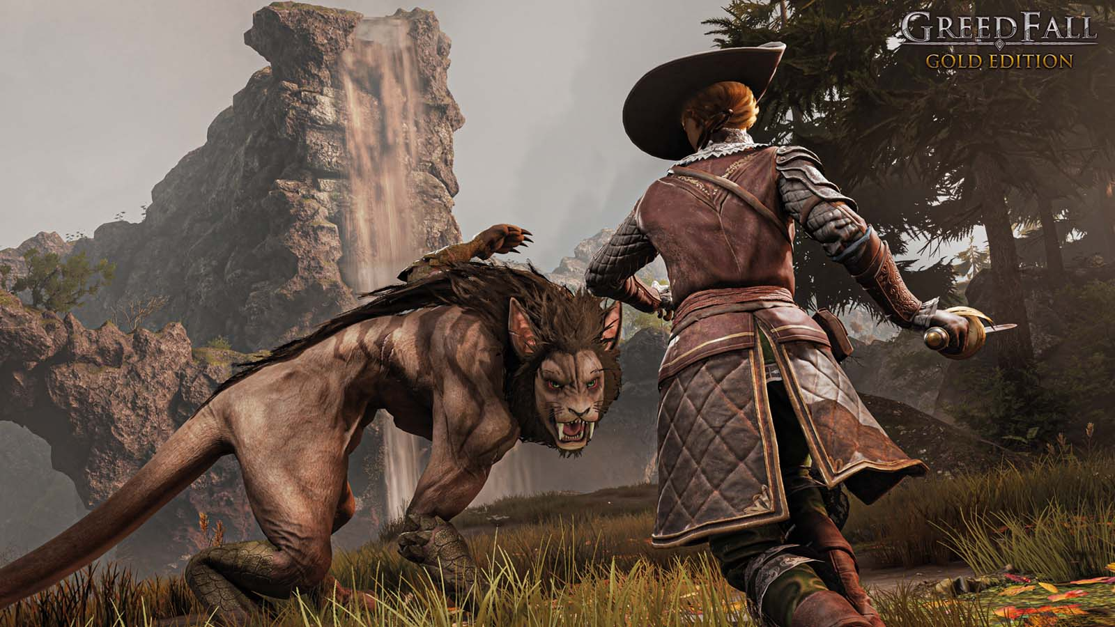 GreedFall Gold Edition wolf attack