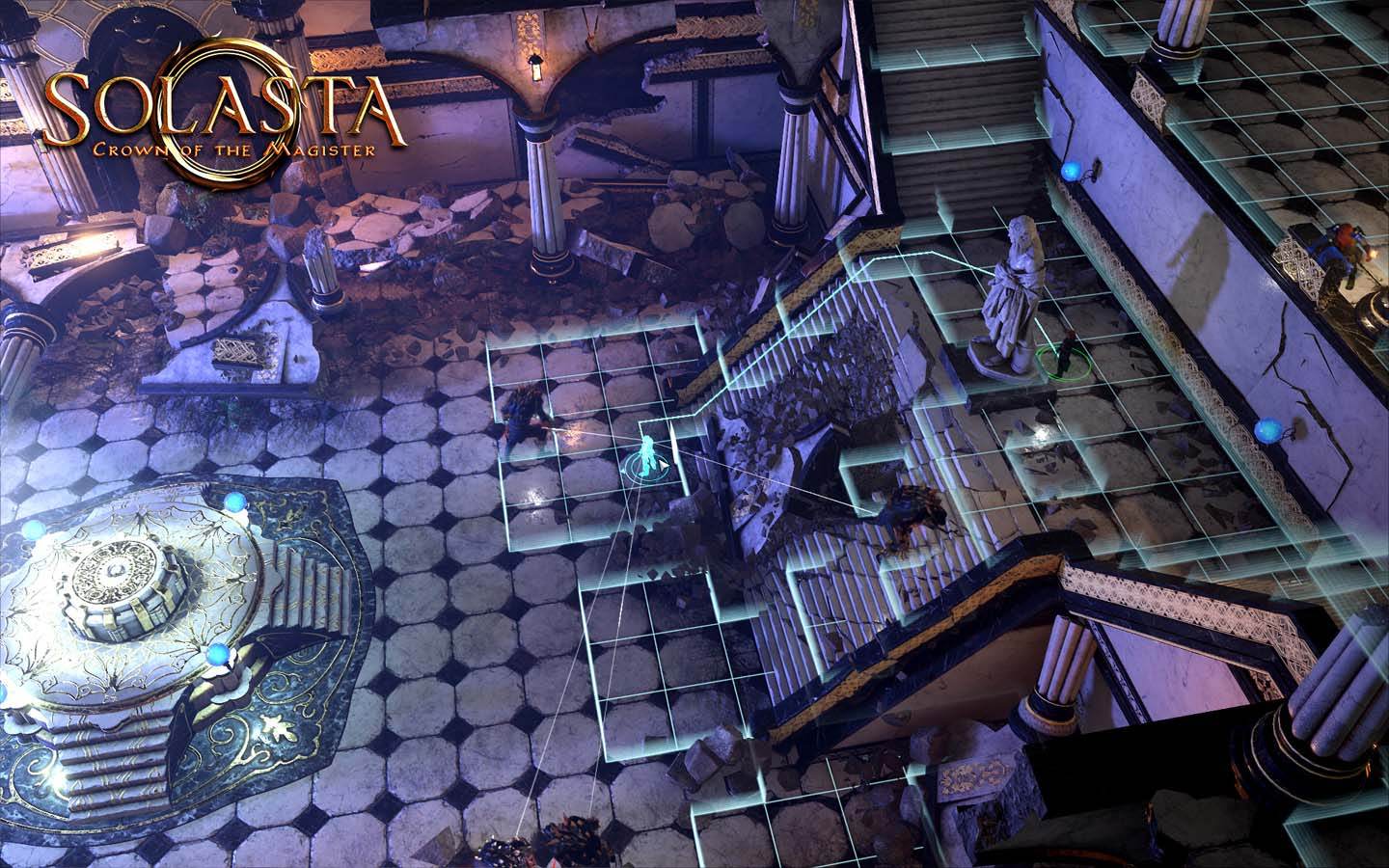 Solasta Crown Of The Magister Review the great hall