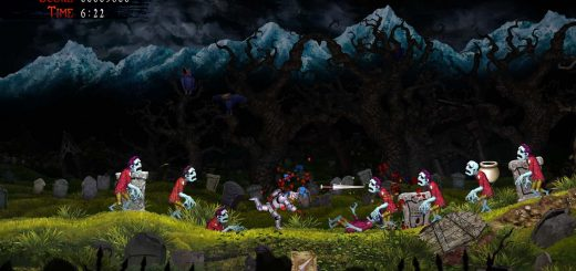 Ghosts N Goblins Resurrection Review zombie invasion