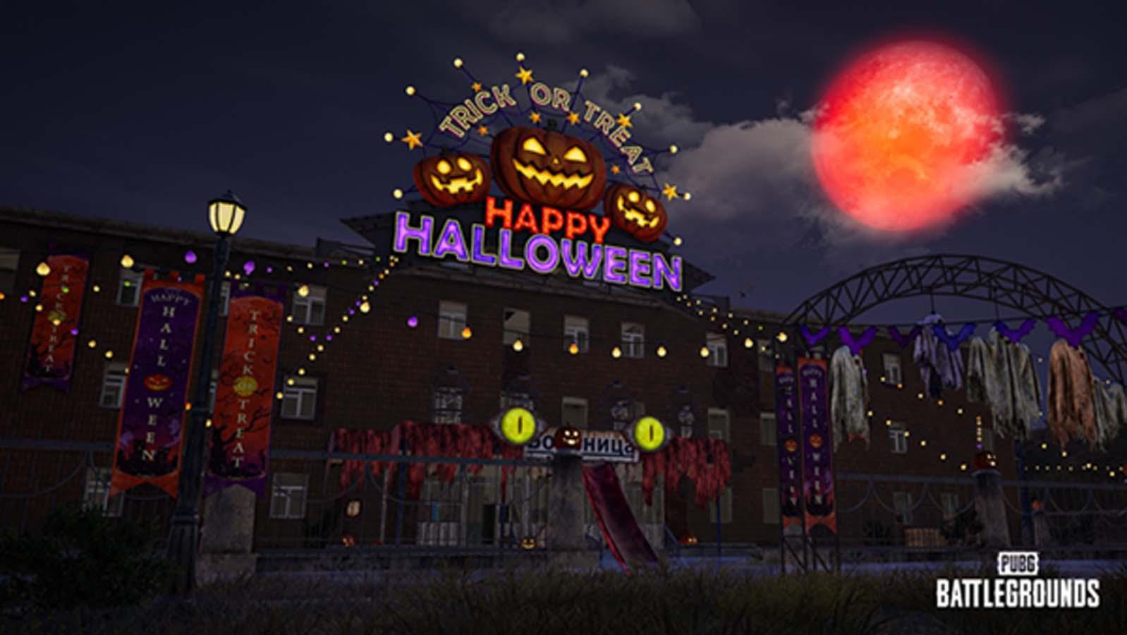 Battlegrounds Brings Halloween