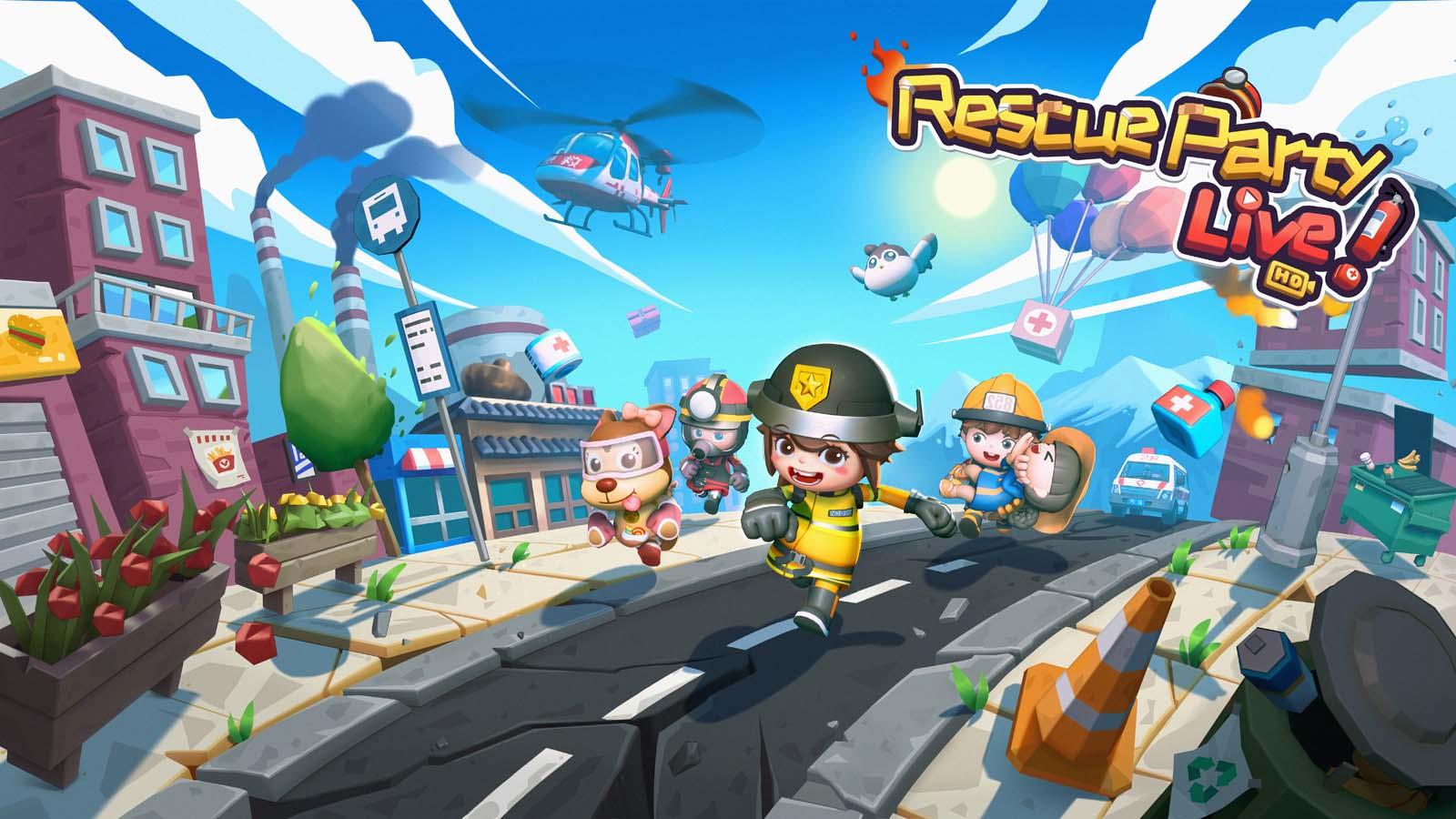 505 Games' Tokyo Game Show 2021 Recap Rescue Party Live Key Art